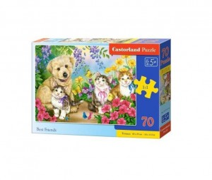 PUZZLE 70 BEST FRIENDS CASTOR, CASTORLAND